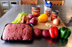 Hamburger Soup | The Pioneer Woman by Ree Drummond / The Pioneer Woman, via Flickr