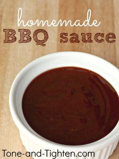 The Best Homemade BBQ Sauce on MyRecipeMagic.com