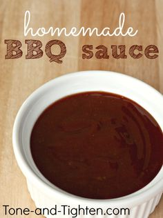 The Best Homemade BBQ Sauce on MyRecipeMagic.com