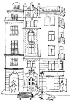 Broms Karlaplan Cold Cuts, Lunches And Dinners, Welcome, Stockholm, Doodles, Embroidery, Donut Tower, Doodle, Zentangle