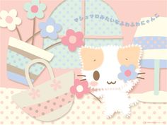 This cat is so cuute, right? Buuut...it has a long name, its name is Mashumaromitaina Fuwafuwanyanko and now here's the challenge, can you remember its name? >.<