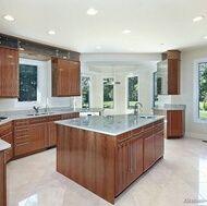 grey flooring kitchen natural wood cabi s