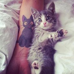 How cute is that? #tattoo #tattoos #ink #inked
