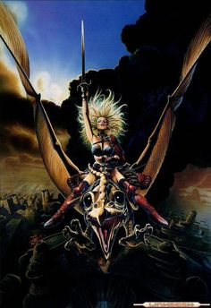One of my favorite animated films. If you haven't seen it, Heavy Metal is an awesome cult classic inspired by the genre.