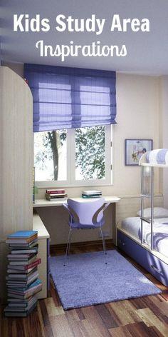Kids Study Room Inspirations