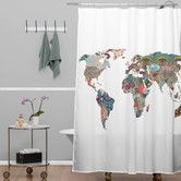 Found it at AllModern - Bianca Woven Polyester Louis Armstrong Told Us So Shower Curtain