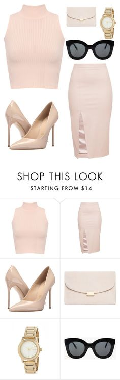 """Untitled #47"" by tenuunl on Polyvore featuring WearAll, Massimo Matteo, Mansur Gavriel, DKNY and CÉLINE"