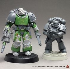 Between the Bolter and Me: Building a True-scale Space Marine