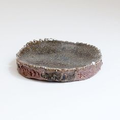 Plate with natural ash and loam glaze. Woodfired local clay, by Erik Hausgby. Small Plates, Ceramic Plates, Handmade Pottery, Safe Food, Glaze, Ash, Decorative Bowls, Ceramics, Natural