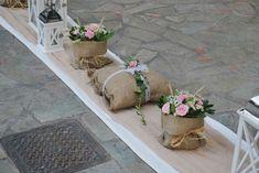 Στολισμός γάμου στήν Αγία Μαρίνα παιανία Planter Pots, Deco, Wedding, Parties, Casamento, Deko, Dekorasyon, Weddings, Dekoration