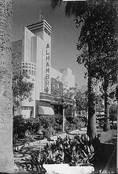 Alhambra Cinema, Jaffa, Palestine - Early 1900's