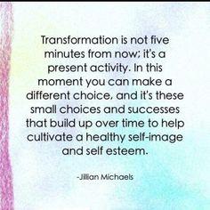 La transformación es la constante que logra milagros en el universo