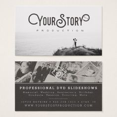 BUSINESS CARD | Old Vintage Photo Black & White - modern gifts cyo gift ideas personalize