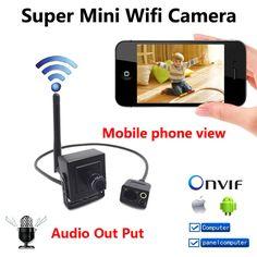 New Super Mini IP Camera wireless 720P cameras wifi CCTV Video audio Camera indoor H.264 Smallest 1.0MP P2P home security cam