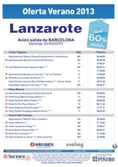 Hasta 60% hoteles en Lanzarote. salidas desde Barcelona - http://zocotours.com/hasta-60-hoteles-en-lanzarote-salidas-desde-barcelona-3/