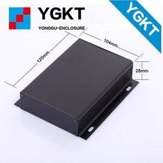 YGK-023-2 104*28*95/4.09''x1.1''x3.35''()wxhxlmm aluminium extrusion box 104*28*85mm  box enclosure instrument case #Affiliate