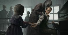 ArtStation - Those Who Play for Ghosts , Forever J