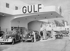 Old Gulf gas station    #gas #station #gasstation
