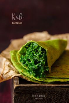 How to juice without a juicer and what to do with kale pulp. Featuring a simple recipe for delicious homemade kale tortillas.