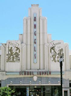 Art Deco Architecture: Photo - Pasadena, CA - Architecture Art Nouveau, Architecture Photo, Beautiful Architecture, Classic Architecture, Bauhaus, Streamline Moderne, Art Deco Movement, Art Deco Buildings, Art Deco Furniture