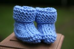 Looking for your next project? You're going to love Baby Easy Booties knitting pattern by designer Lyudmyla.