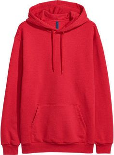 Long-sleeved top in sweatshirt fabric with a lined, drawstring hood, kangaroo pocket at the front and ribbing at the cuffs and hem. Trendy Hoodies, Cool Hoodies, Teen Fashion Outfits, Edgy Outfits, Hoodie Sweatshirts, Hoody, Cute Comfy Outfits, Cool Outfits, Jugend Mode Outfits