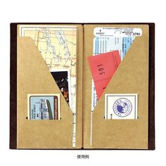 Amazon.com : Midori Traveler's Notebook Refill (020) Craft File : Office Products
