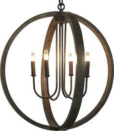 Abel 4-Light Globe Pendant #lighting #lights