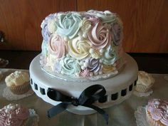 My bridal shower cake by Main Made Cakes, @Renee Peterson Main! #DBBridalStyle #Lucyfer #wedding