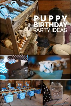 Puppy Themed Birthday Party Ideas for Boys