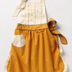 a vintage style apron.