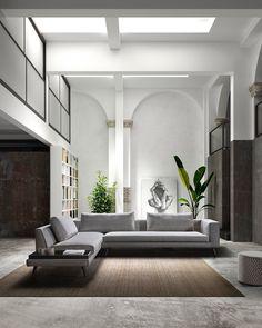 Oversized Mirror, Modern, Furniture, Home Decor, Lush, Trendy Tree, Interior Design, Home Interior Design, Arredamento