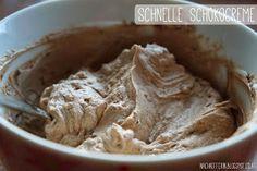 Schnelle Schokocreme aus Topfen + Ovomaltine Crunchy Cream Peanut Butter, Blogging, Food, Ovaltine, Food Food, Essen, Meals, Yemek, Eten