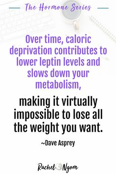 Have you thought that when it comes to losing weight, calories in/calories is the magic formula that works? That if you just cut your calories and exercise more, you'll lose weight? I did too. Lately, I've been doing a ton of research on hormones and how they affect our weight and I even read a book about a little hormone called leptin, which if it isn't working properly, can prevent you from losing weight. Repin and grab your free meal plan! Diet Meal Plans To Lose Weight, Easy Diet Plan, How To Lose Weight Fast, Losing Weight, Free Keto Meal Plan, Free Meal, What Is Leptin, Slow Down Metabolism, Leptin Levels