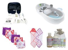 Bath time essentials for baby #babyregistry #target