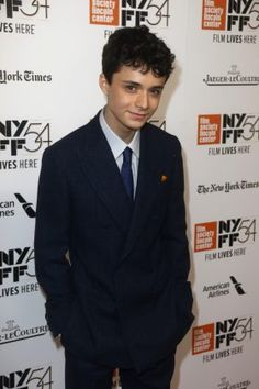 Lucas Jade Zumann is a very handsome young man.