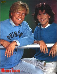 Modern Talking - Super Poster - BRAVO #12 - 14.03.1985
