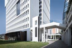 Graduate School, University Graduate, Tsinghua University, Innovation Centre, High Rise Building, Facade Architecture, Shenzhen, Skyscraper, Facades