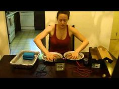 At Home Iontophoresis Treatment Setup