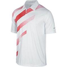 Nike Golf Fashion Stripe Polo 2013 - WHITE/SOFT GREY