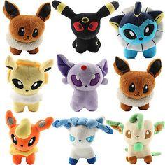 1x 12cm Peluche Pokémon Poupée Enfant Figurine Toy Rembourré Animal Jouet Cadeau