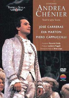 José Carreras in Andrea Chénier, La Scala, 1985