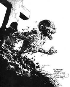"""For my friend Rowland, All Best Wishes""... Bernie Wrightson"