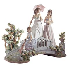 Lladro Porcelain Japanese Figurines direct from Lladro in Valencia, Spain, Free…