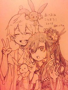 Oz and Alice ||| Pandora Hearts Fan Art