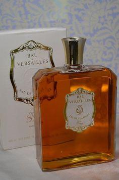 Vintage Perfume BAL a VERSAILLES 285ml EDC 16 Oz Huge Jean Desprez Bottle Cologne French Perfume Perfect Gift. $285.50, via Etsy.