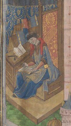 La troisième et la quatrième Décade de Tite-Live, traduites par Pierre de Bressuire  Date d'édition :  1401-1500  Bibliothèque de l'Arsenal, 3694  Folio 1r