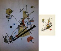 "Vasily Kandinsky's ""Joyous Ascent"" 1923"