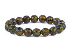 naramok-achat-zeleny-fazetovany-10mm Beaded Bracelets, Jewelry, Jewlery, Jewerly, Pearl Bracelets, Schmuck, Jewels, Jewelery, Fine Jewelry