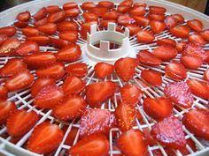 Great recipes for all things strawberry! Canned, fruit leather, dried strawberries, etc...